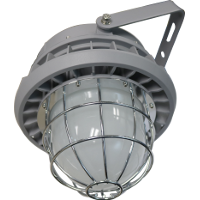 Hazardous Location Lighting B Series with Glass Cover and Wire Guard