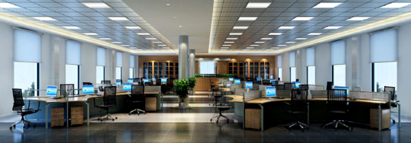 LED Troffer Fixtures